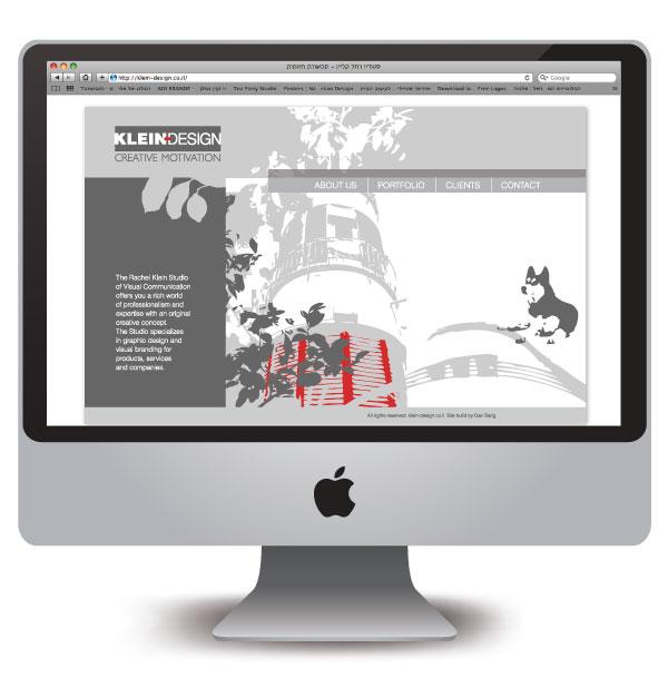 Klein-Design web site 1